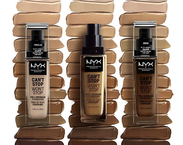Available In 45 Shades Nyx Professional Makeup