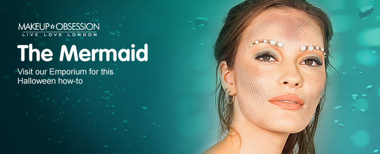 Get the mermaid look by makeup obsession