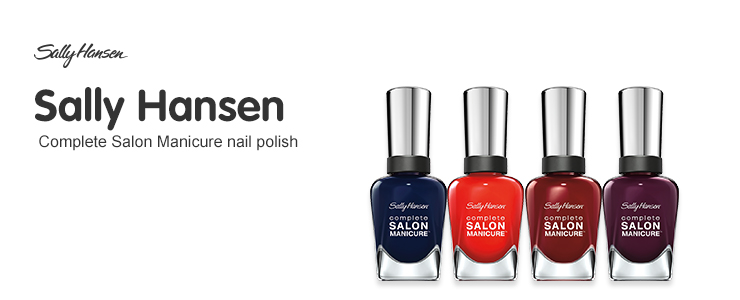 New Sally Hansen Complete Salon Manicure Collection