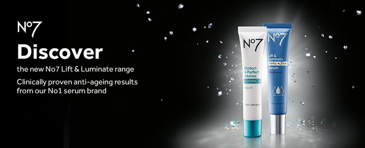Discover Number Sevens clincally proven serum range