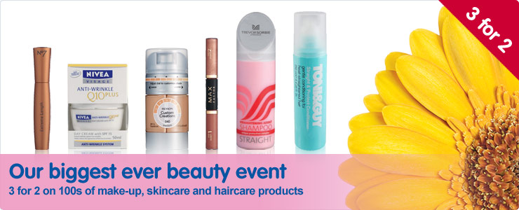 Our biggest ever beauty event
