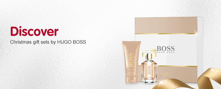 Christmas gift sets by HUGO BOSS