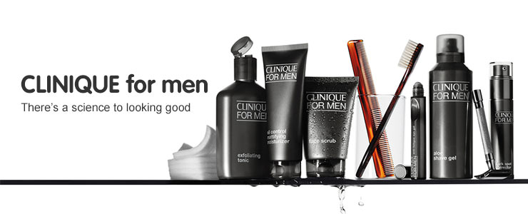Discover Clinique skin supplies for Men