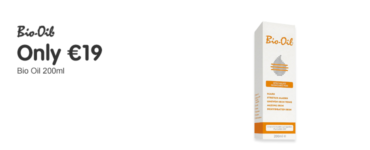 Only 19 euros on selected Bio Oil