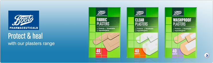 Protect and heal with our plasters range