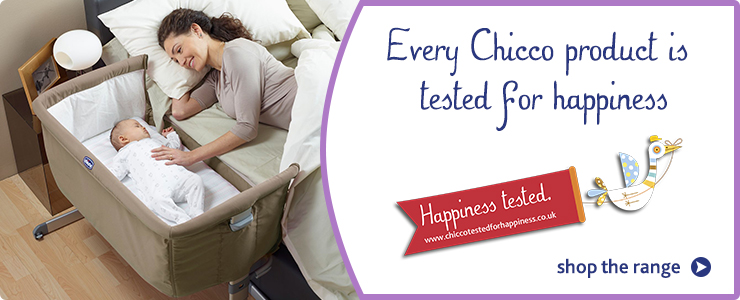Every Chicco product is tested for happiness. Shop the range.