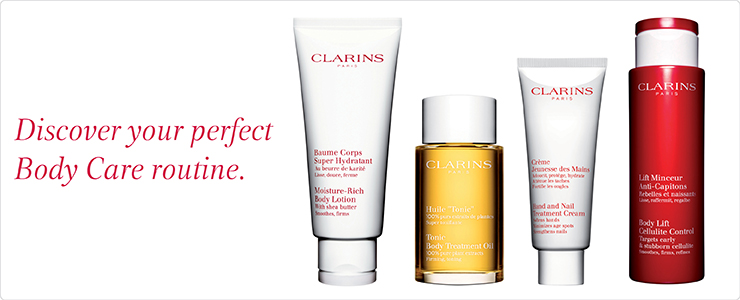 Clarins Body Care - Look better naked