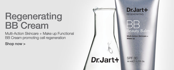 Dr Jart regenerating bb cream. Multi action skin care and make up functional bb cream promoting cell regeneration. Shop now