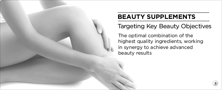 Beauty supplements. Targeting key target objectives. The optimal combination of the highest quality ingredients, working in synergy to achieve advanced beauty results