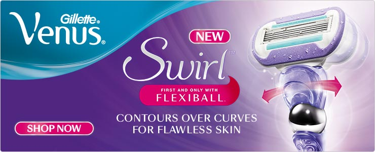 Discover new venus swirl with flexiball technology