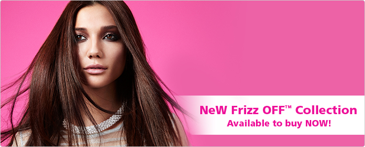 New Frizz Off Collection: Available to buy now