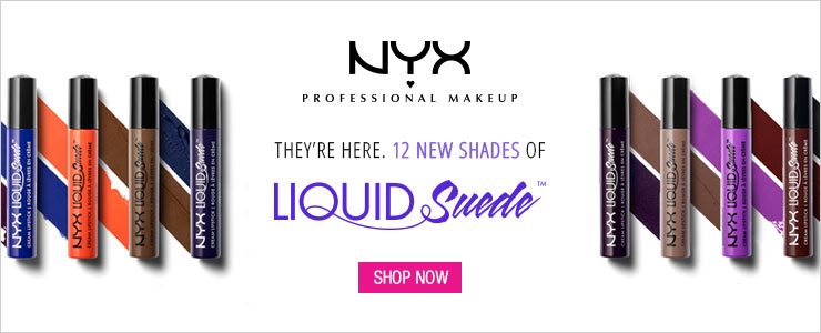 New shades of NYX Liquid Suede Cream Lipstick, Shop Now!