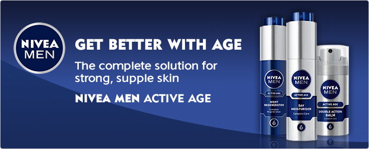 NIVEA MEN Active Age - Get Better with age