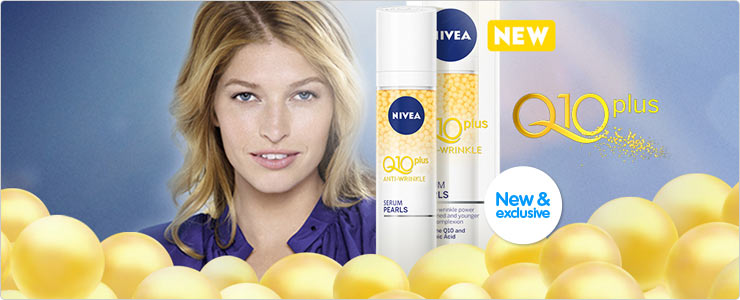 New Nivea Serum Pearl