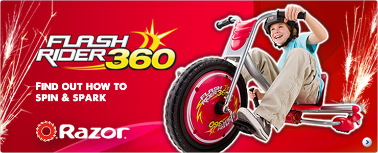 Flash Rider 360 Find out how to spin and spark