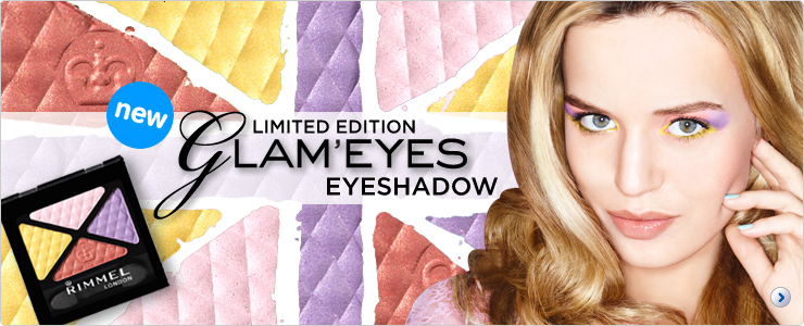 Rimmel Limited Edition Summer Glam Eyes Quad Eye Shadow