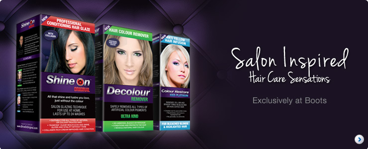 Decolour, Shine On & Coloure Restore - Exclusive to Boots