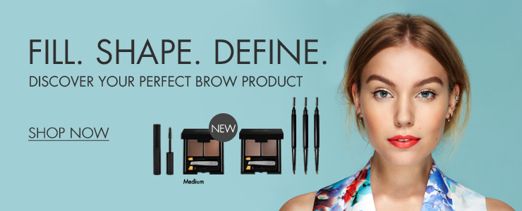 Sleek brow range