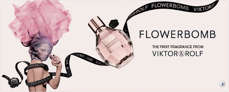 Flowerbomb - The first fragrance from Viktor & Rolf