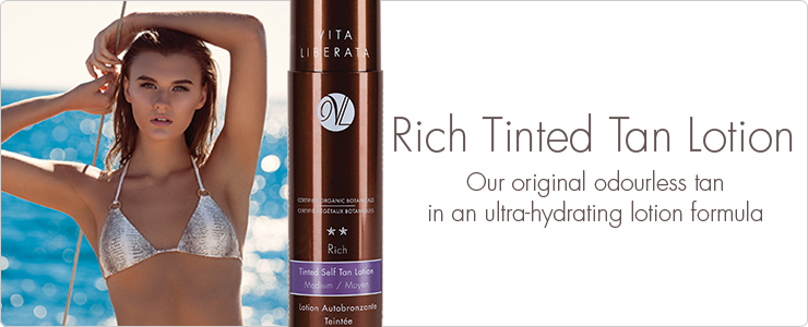 Vita Liberata Rich Tinted Tan Lotion