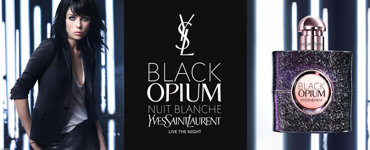 New Yves Saint Laurent Black Opium Nuit Blanche