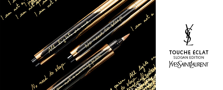 Yves Saint Laurent Touche Eclat Slogan Collectors