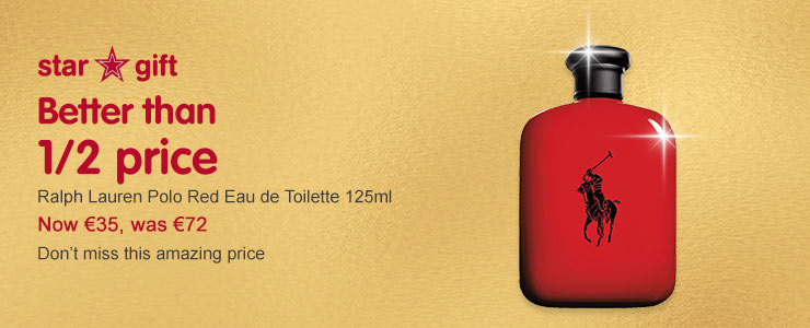 RL Polo Red EDT 125ml better than half price