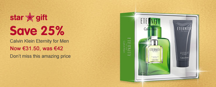 Star gift CK Eternity for men