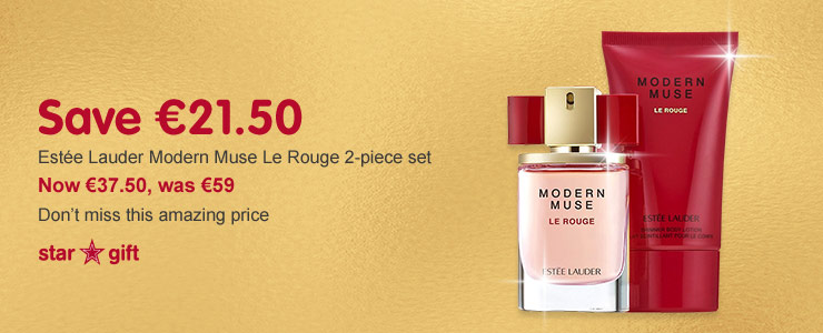 Estee Lauder modern muse le rouge 2 piece set Star Gift