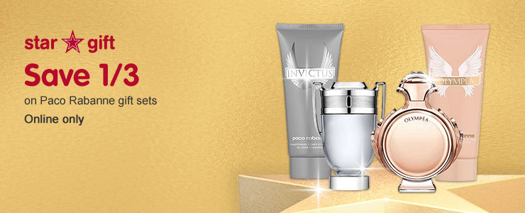 Great savings on Paco Rabanne gift sets
