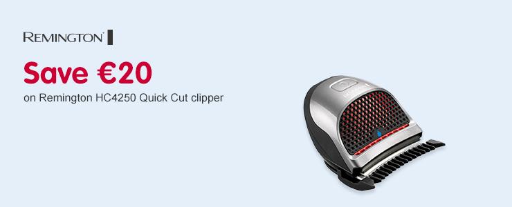 Save 20 on Remington HC4250 Quick Cut Clipper