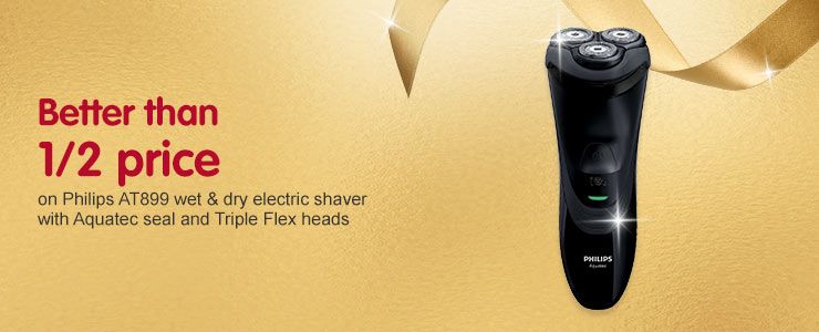 Better than half price Philips AT899 wet & dry electric shaver