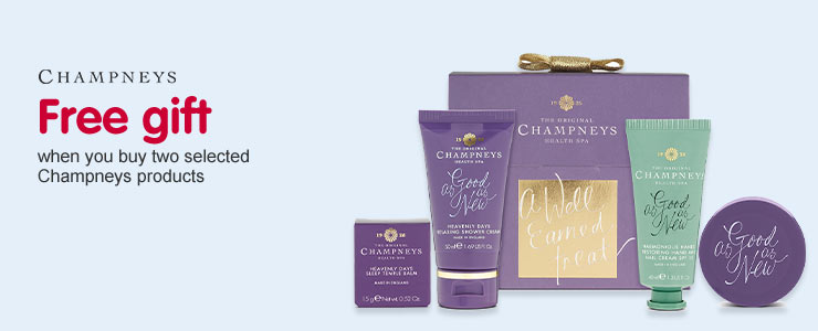 Free gift when you buy 2 selected Champneys