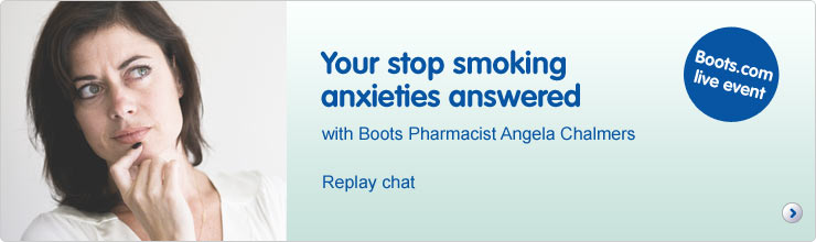 Your stop smoking anxieties answered