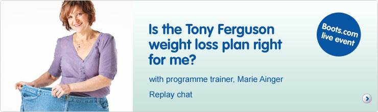 Is the Tony Ferguson weight loss plan right for me?