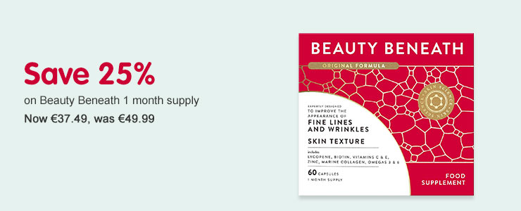 Save 25% on Beauty beneath