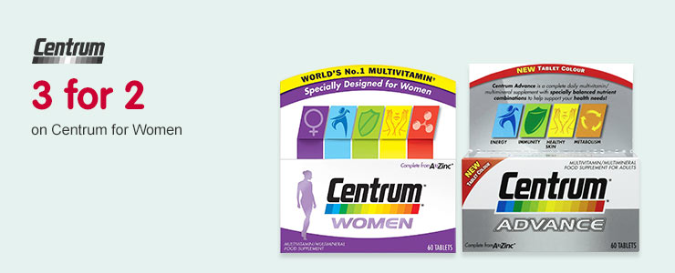 3 for 2 on Centrum for Women