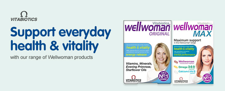 Support everyday health and vitality with our range of Wellwomen products