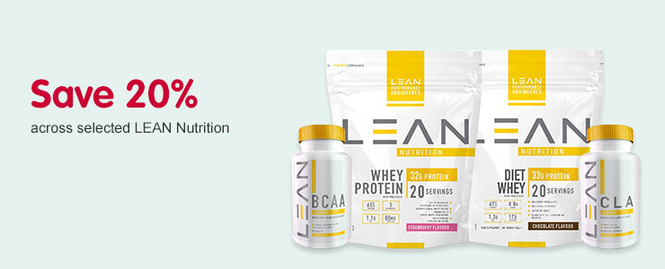 Save 25 percent on lean nutrition