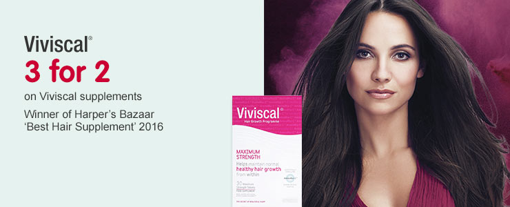 3 for 2 on Viviscal supplements