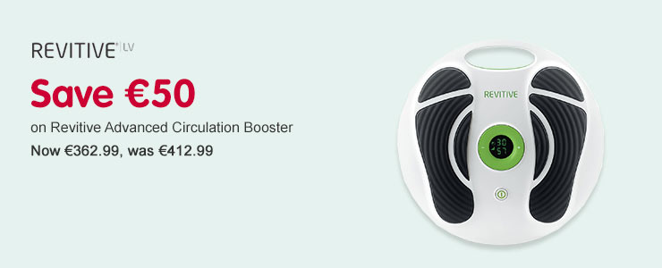save €50  On Revitive Advanced Circulation Booster