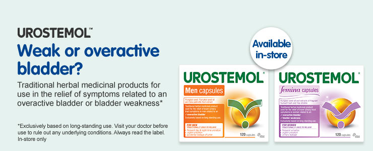 Urostemol weak or overactive bladder?
