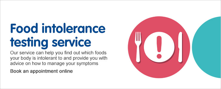 Food Intolerance Testing Service