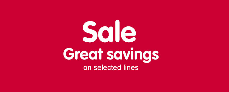 Sale - save up to 1/2 price on selected toys