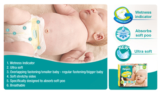 pers new baby nappies size 2 monthly pack 240nappies boots
