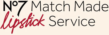 No7 Match Made Lipstick Service