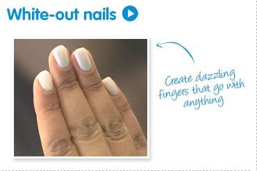 White-out nails