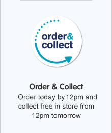Order by 12pm and collect from 2pm the next day