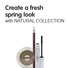 Create a fresh spring look with natural collection