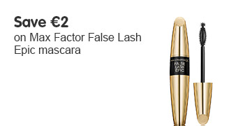 Save two pounds on selected Max Factor Epic mascara